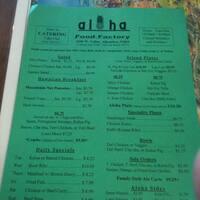 Aloha Food Factory Alhambra Alhambra Urbanspoonzomato