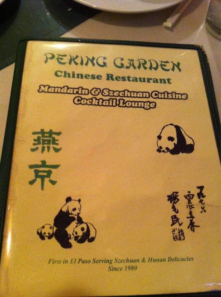Peking Garden Menu Menu For Peking Garden Eastside El Paso Urbanspoon Zomato