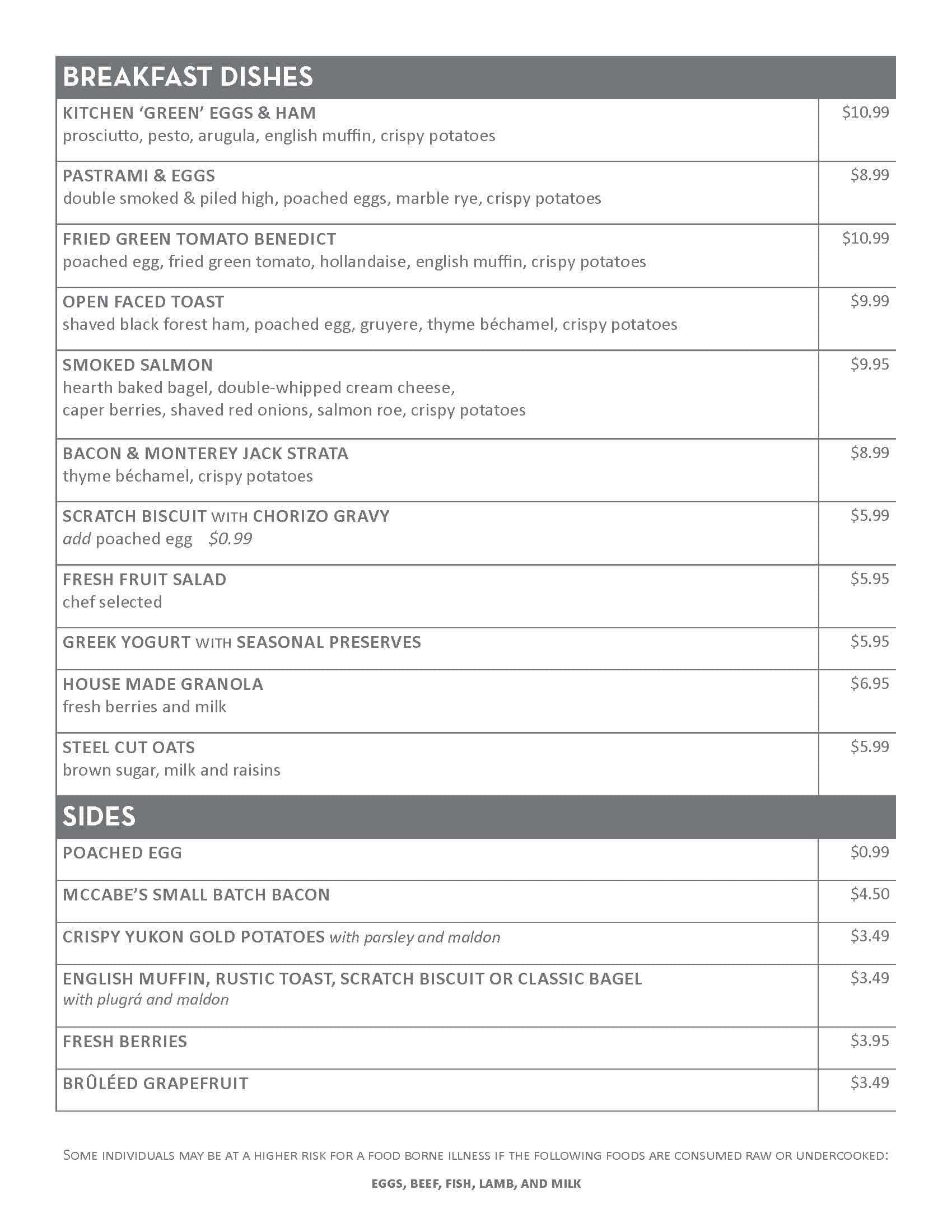 kitchen no 324 menu menu for kitchen no 324 downtown oklahoma