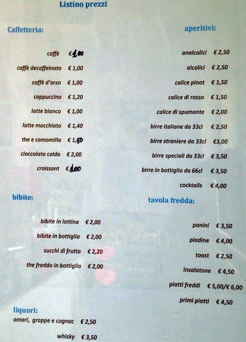 Top Le Petit Déjeuner Cafe Menu - Zomato Italy MH04