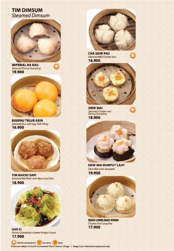 Imperial Kitchen Menu Zomato