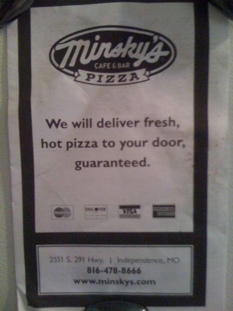 Minsky's coupon code