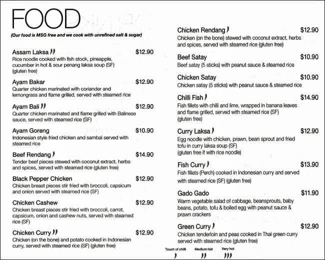 melting pot cafe menu menu for melting pot cafe ardross perth urbanspoon zomato