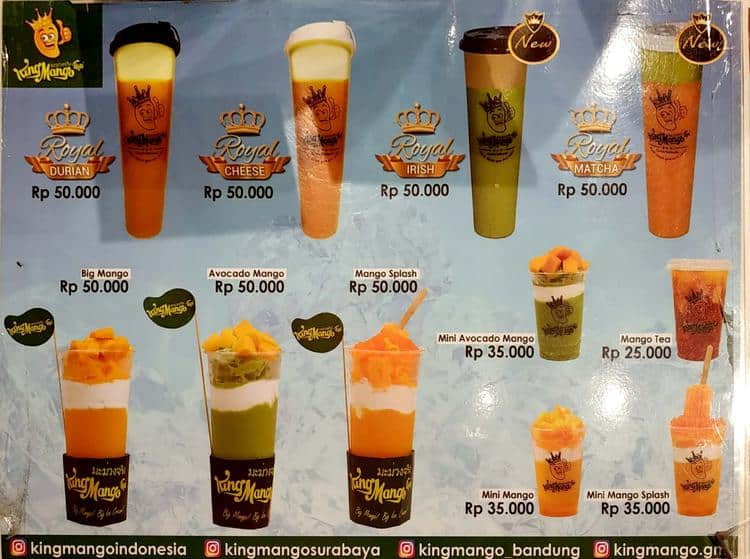 king mango thai menu menu for king mango thai tanjung duren rh zomato com