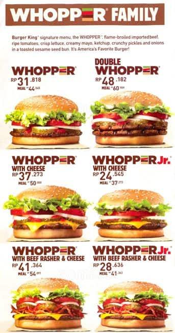 burger king priser danmark