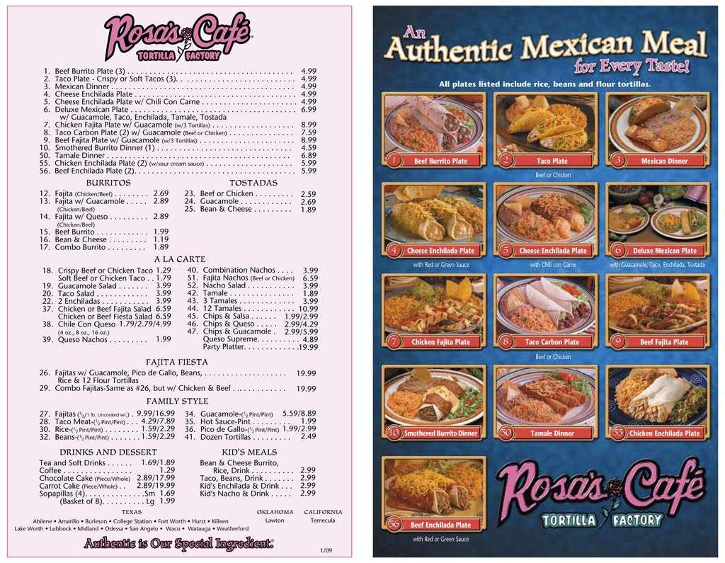 Rosa\'s Cafe & Tortilla Factory, Lubbock, Lubbock - Urbanspoon/Zomato