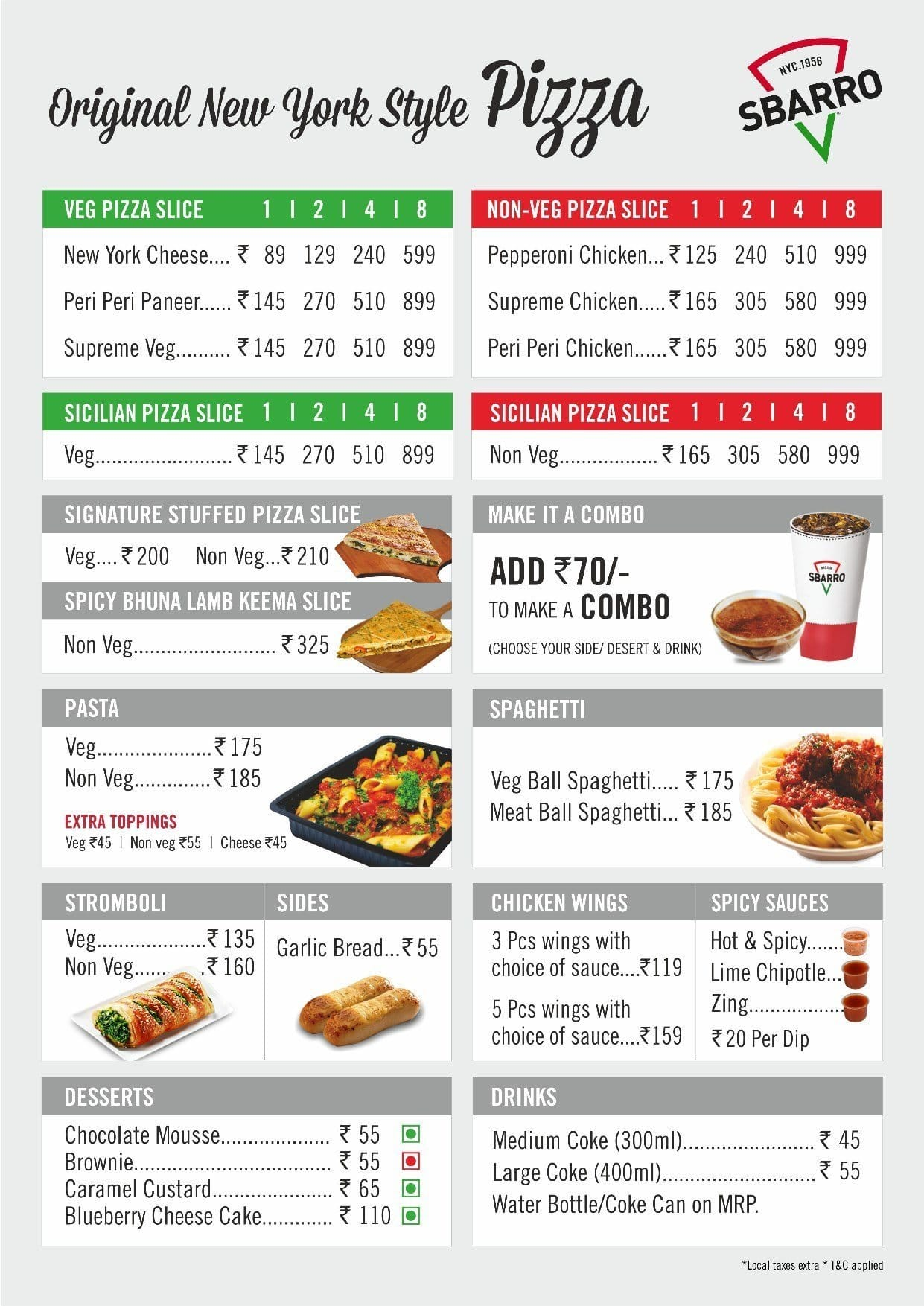 Sbarro India. Fast Food Restaurant. Community See All. 24, people like this. 24, people follow this. About See All. Typically replies within a few hours. Contact Sbarro India on Messenger. modestokeetonl4jflm.gq Fast Food Restaurant · Pizza Place. People/5(7).