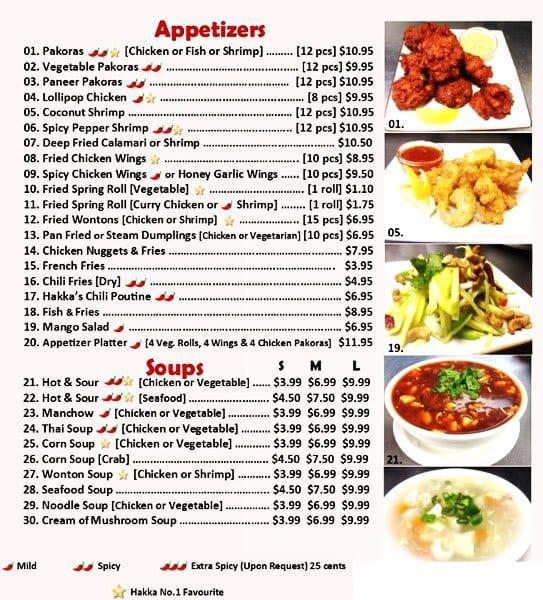 Hakka no 1 menu menu for hakka no 1 north york toronto hakka no 1 north york menu forumfinder Images