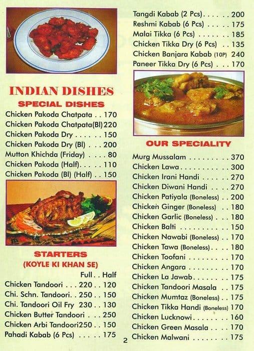 Food Sagar Mulund Menu