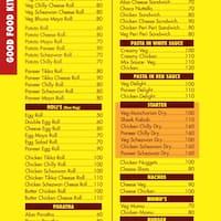Good Food Kitchen Law College Road Menu