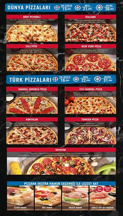 Dominos Pizza Menu Menu For Dominos Pizza Cebeci Ankara