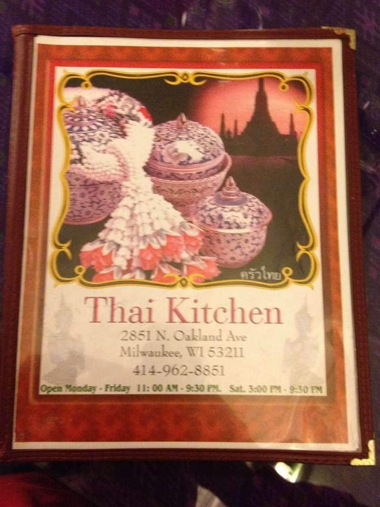 thai a kitchen east side menu - Thai Kitchen Milwaukee