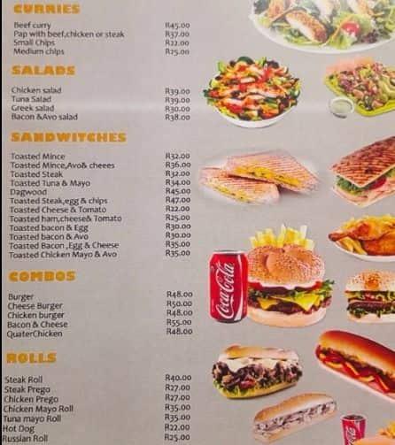 my lunch menu menu for my lunch ferndale randburg zomato sa