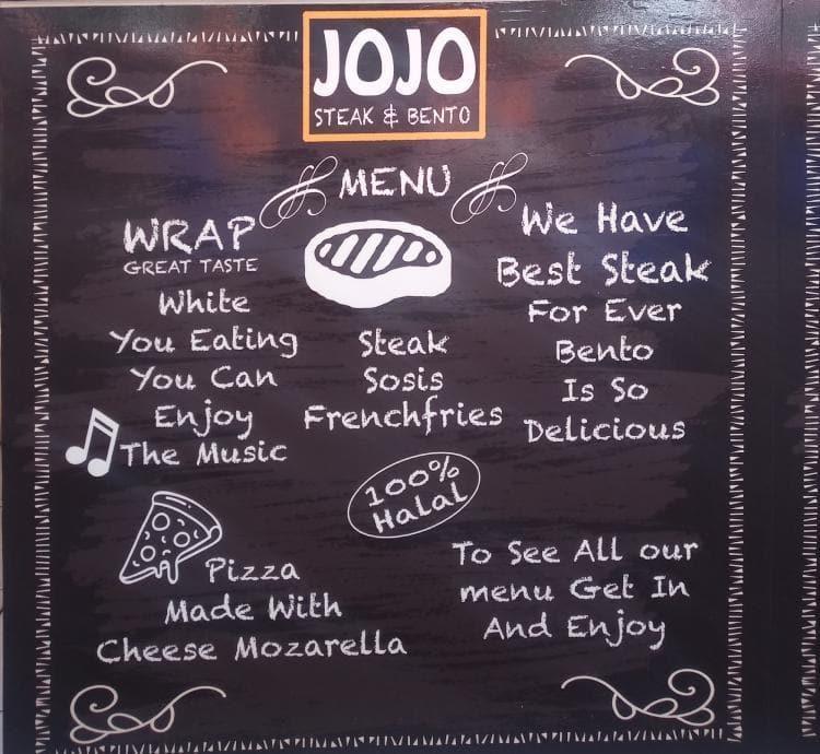 jojo steak bento grogol menu
