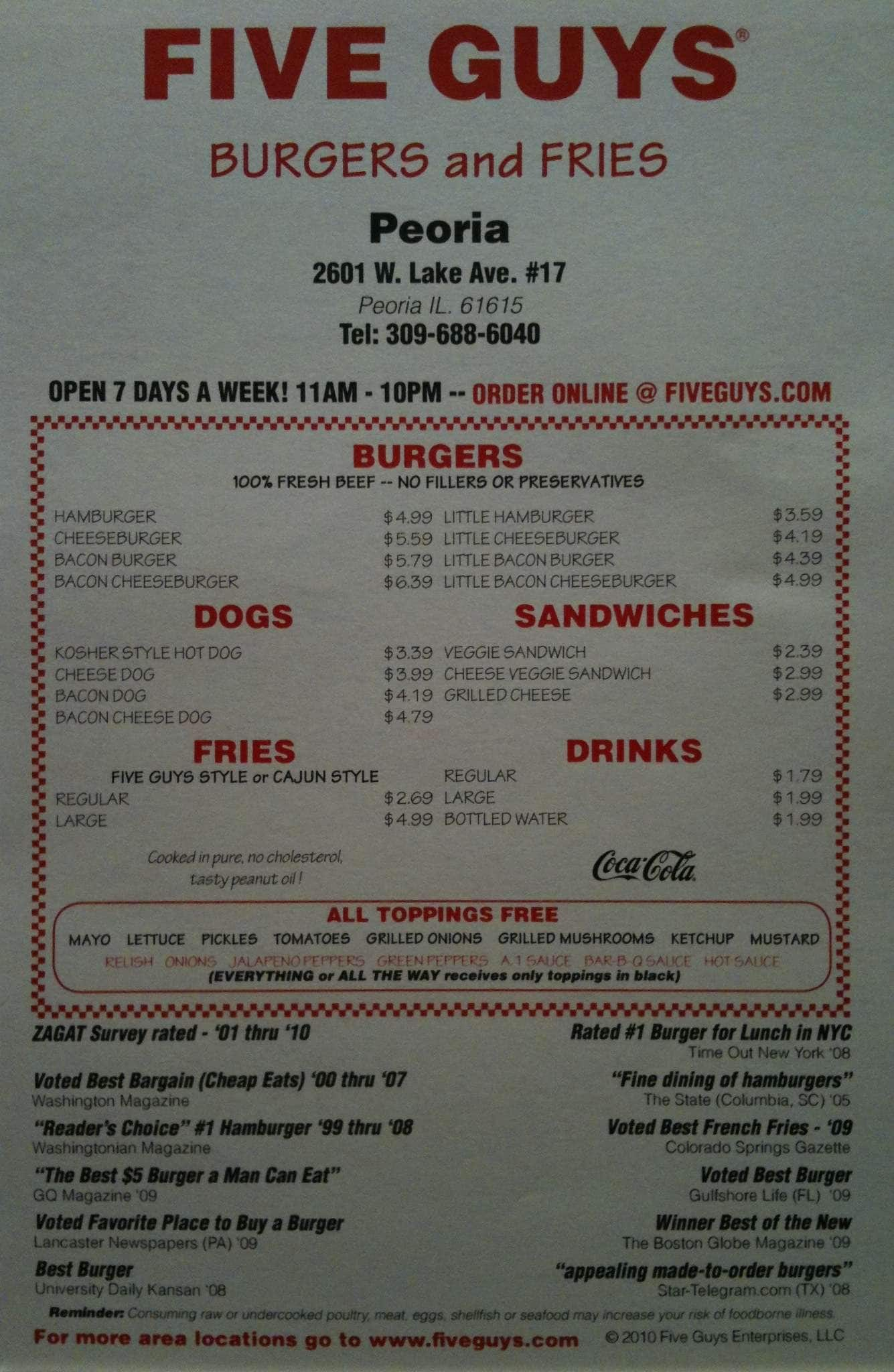Fish house peoria il menu house plan 2017 for The fish house menu