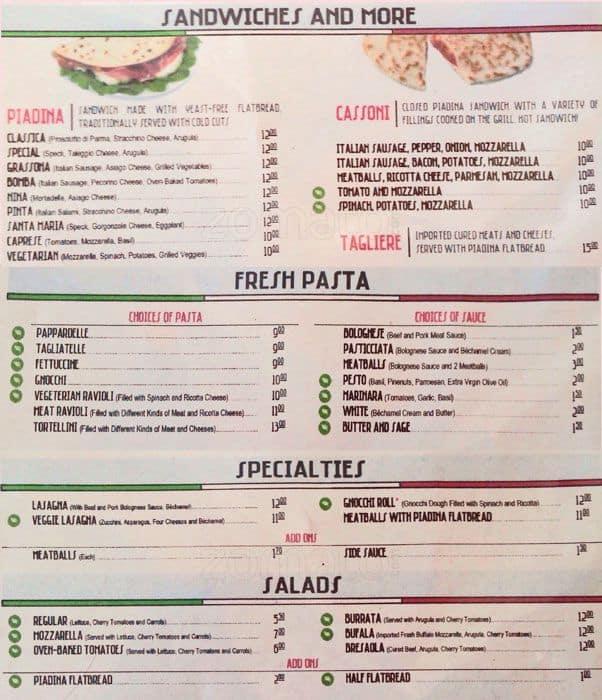 The italian homemade company menu urbanspoon zomato for The local italian menu