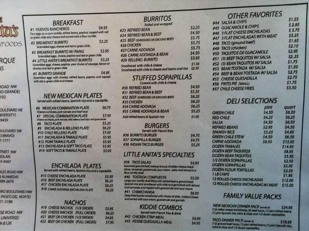 anitas kitchen menu by s express menu urbanspoon zomato - Anitas Kitchen