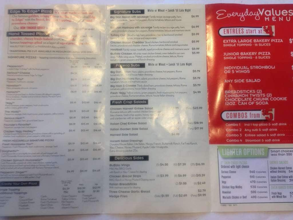 Restaurant menu, map for Donato's Pizza located in , Hudson OH, Darrow sell-lxhgfc.mle: American, Pizza, Salads, Subs.