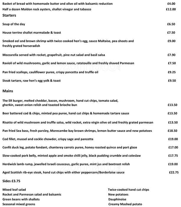 Image Result For Exhibition Rooms Crystal Palace Menu