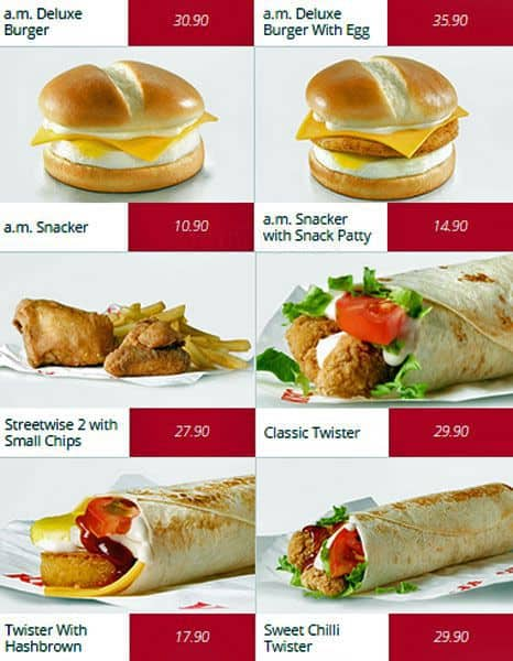 KFC Menu, Menu for KFC, Grahamstown, Grahamstown - Zomato SA