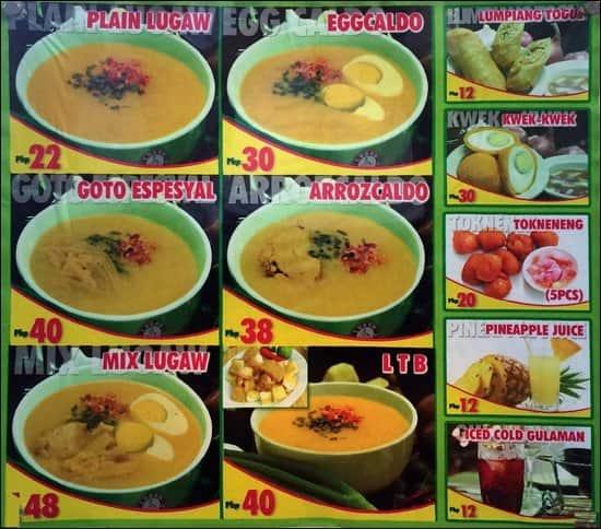 Goto lugaw business plan