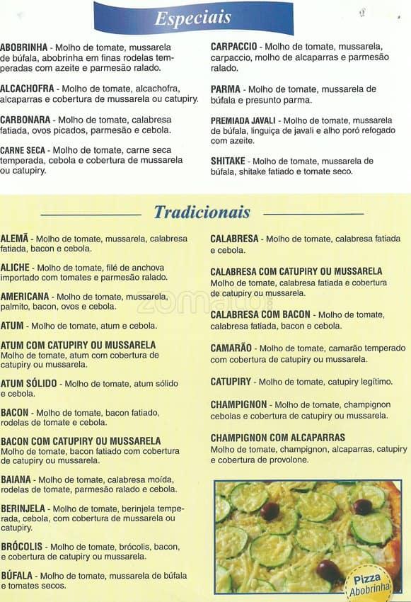 tutti pizza menu menu de tutti pizza ipiranga s o paulo zomato brasil. Black Bedroom Furniture Sets. Home Design Ideas