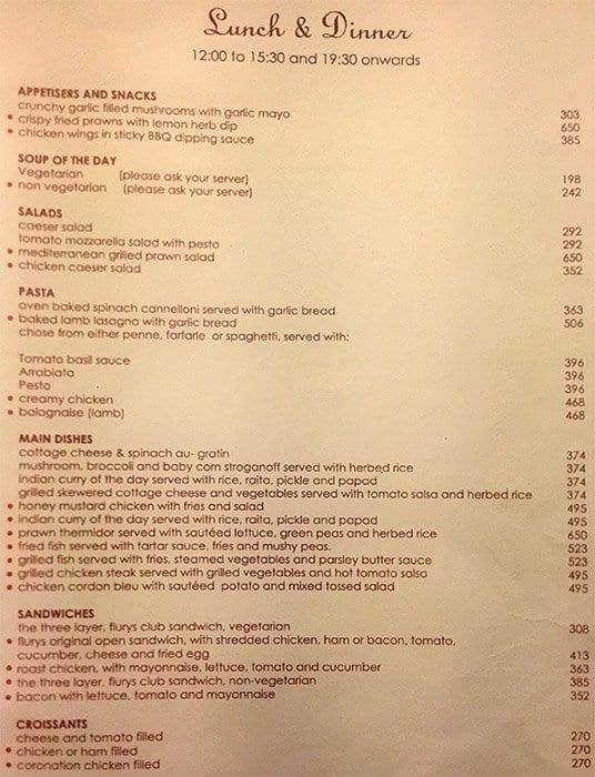 Continental Restaurant In Park Street Kolkata