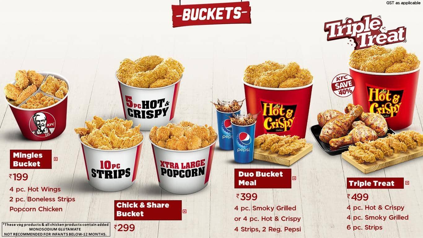 KFC Menu, Menu for KFC, Peelamedu, Coimbatore - Zomato