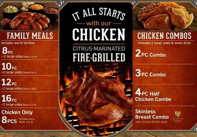 El Pollo Loco Logo el pollo loco menu, menu for el pollo loco, santee, san diego