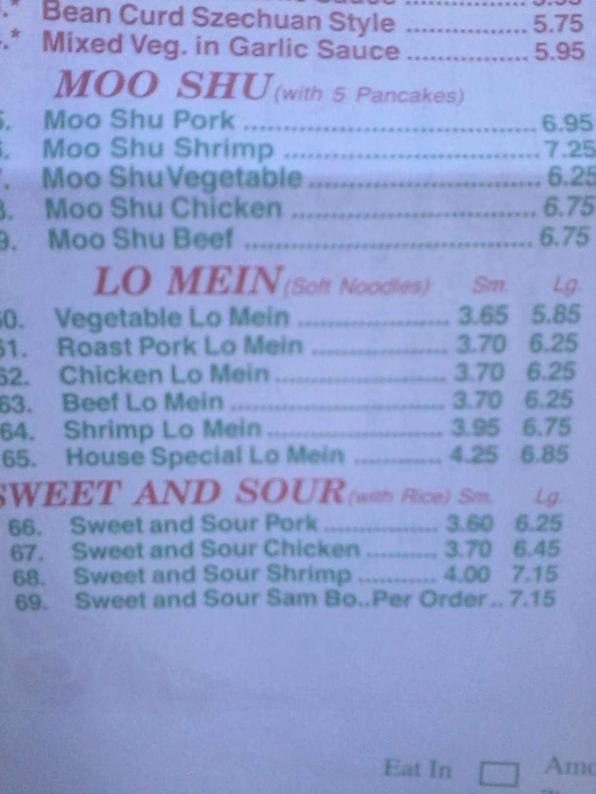 China Taste Restaurant Menu Menu For China Taste Restaurant Huntsville Huntsville