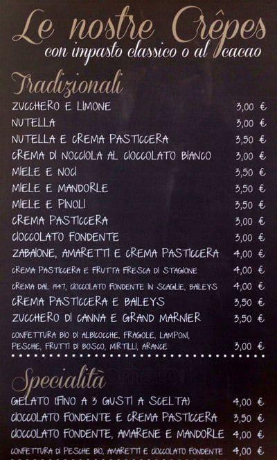 La romana a roma foto del menu con prezzi zomato italia for Menu cucina romana