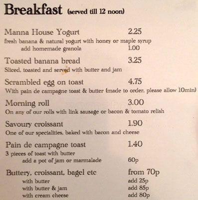 the manna house menu menu for the manna house leith edinburgh rh zomato com manna house portland manna house alexandria la