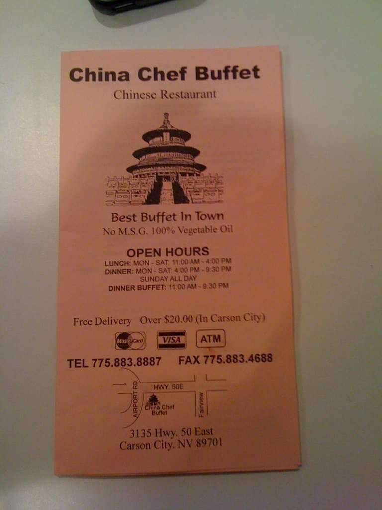 Outstanding China Chef Menu Menu For China Chef Carson City Reno Download Free Architecture Designs Scobabritishbridgeorg
