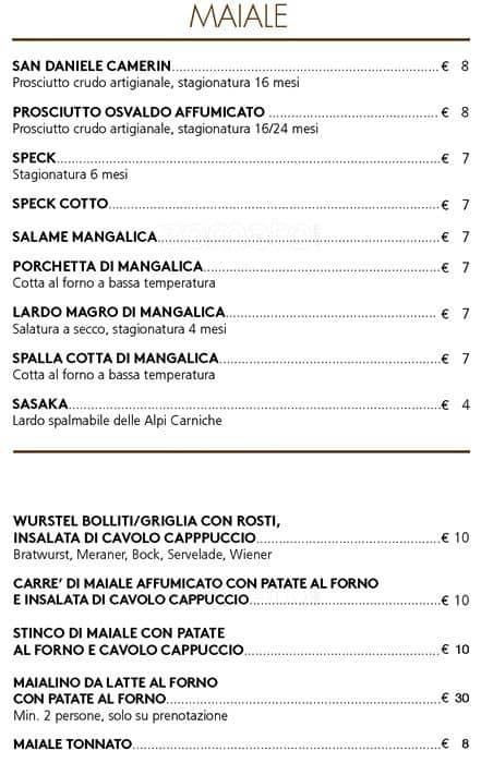 Mot Bistrot Menu Menu For Mot Bistrot Santambrogio Milano