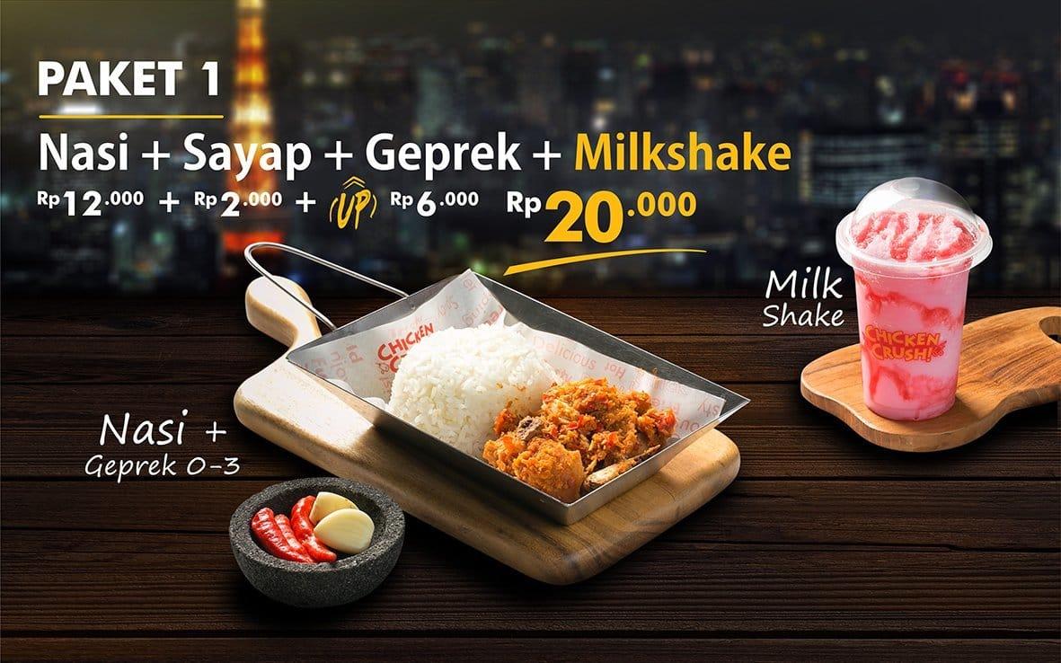 Chicken Crush Menu Menu For Chicken Crush Serpong Utara Tangerang