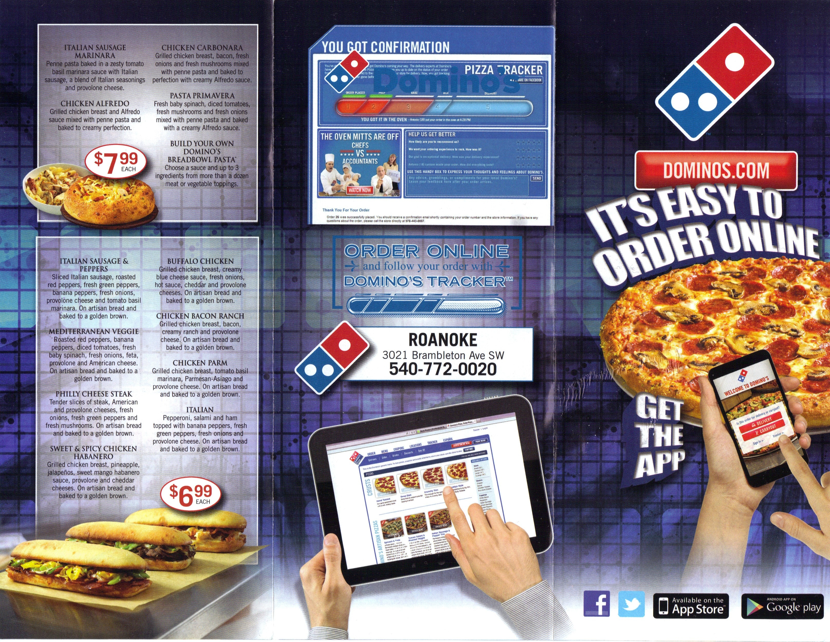 implementation of pizza tracker by dominos Creation and development of a mobile application for domino's pizza españa with the domino's live pizza tracker  implementation of thisproject.