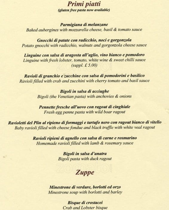 The Restaurant Information Including 2 Veneti Menu Items And Prices May Have Been Modified Since Last