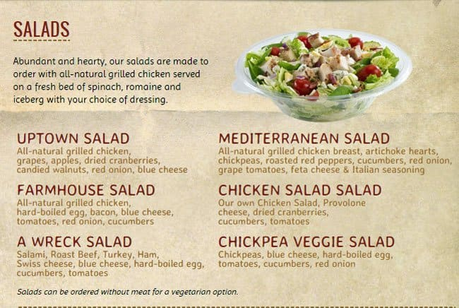 graphic relating to Potbelly Printable Menu called Potbelly houston menu - North memorial brooklyn park hospital