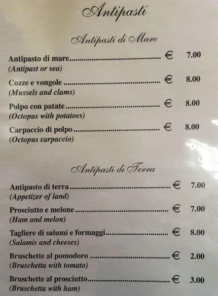 Ristoro Sardo Menu Menu For Ristoro Sardo Battistini Roma