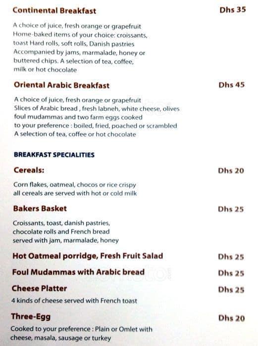 Food Palace Restaurant Sharjah