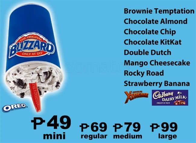 Dq Cake Price Philippines