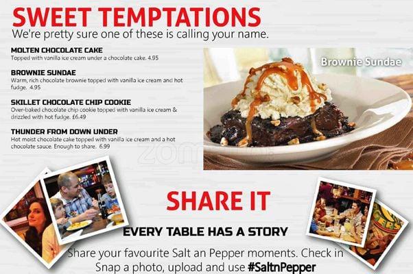 Salt N Pepper Menu
