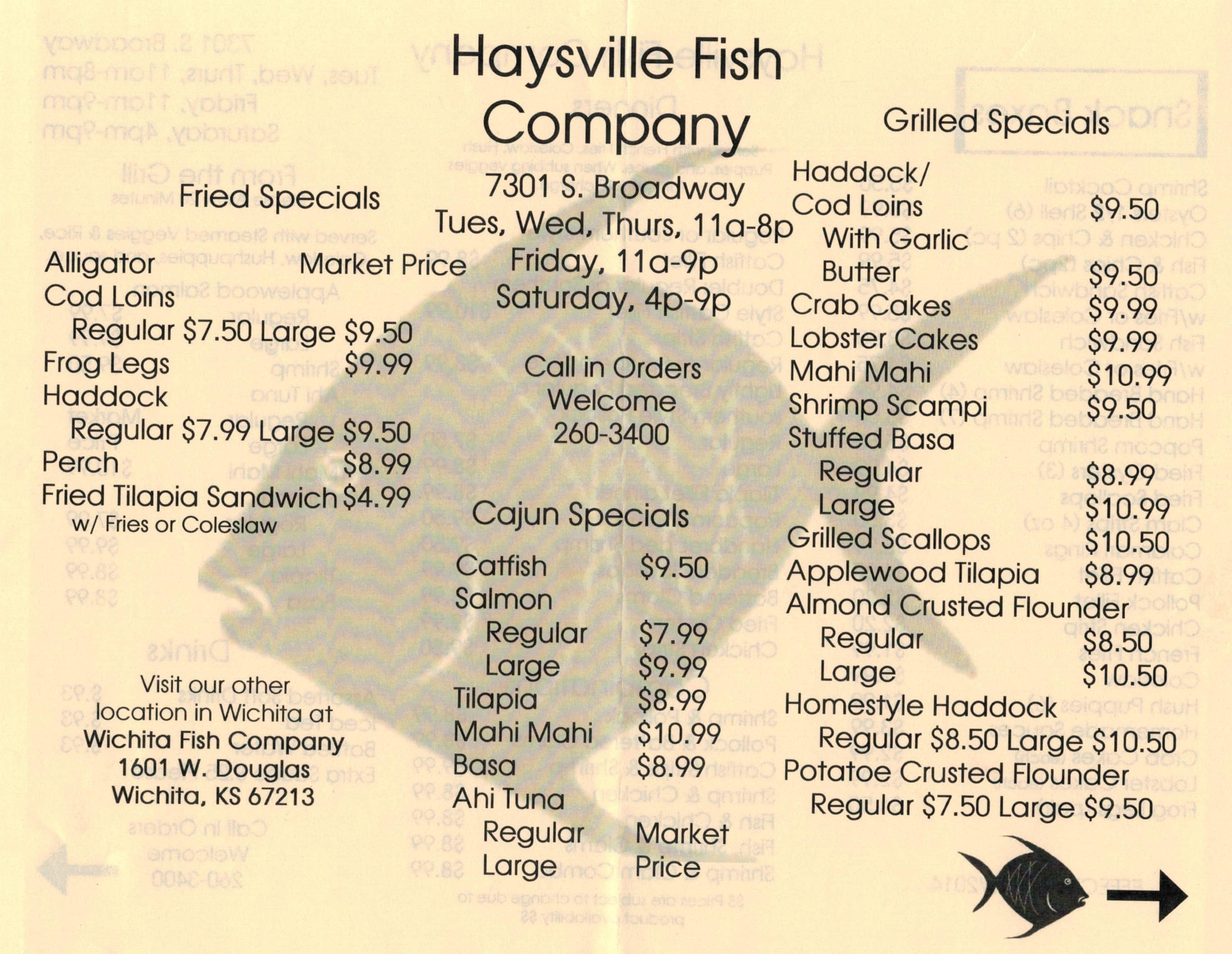 Haysville fish company