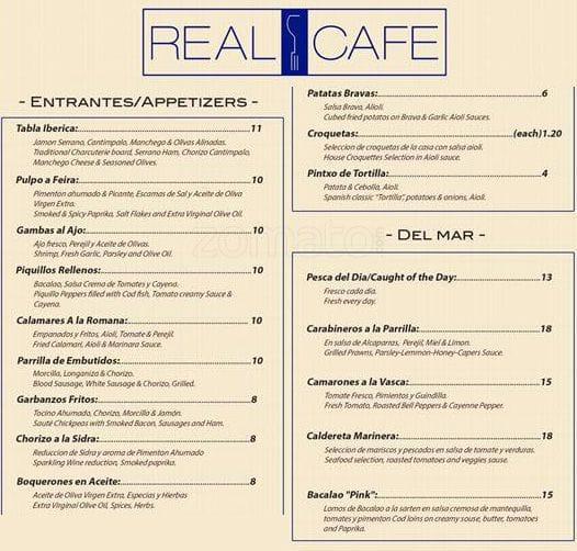 La Fragua Restaurant Miami Menu