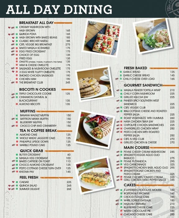 Coffee Bean Menu Zomato