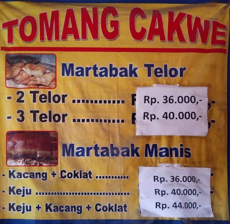 Tomang Cakwe Menu Menu For Tomang Cakwe Kemanggisan Jakarta
