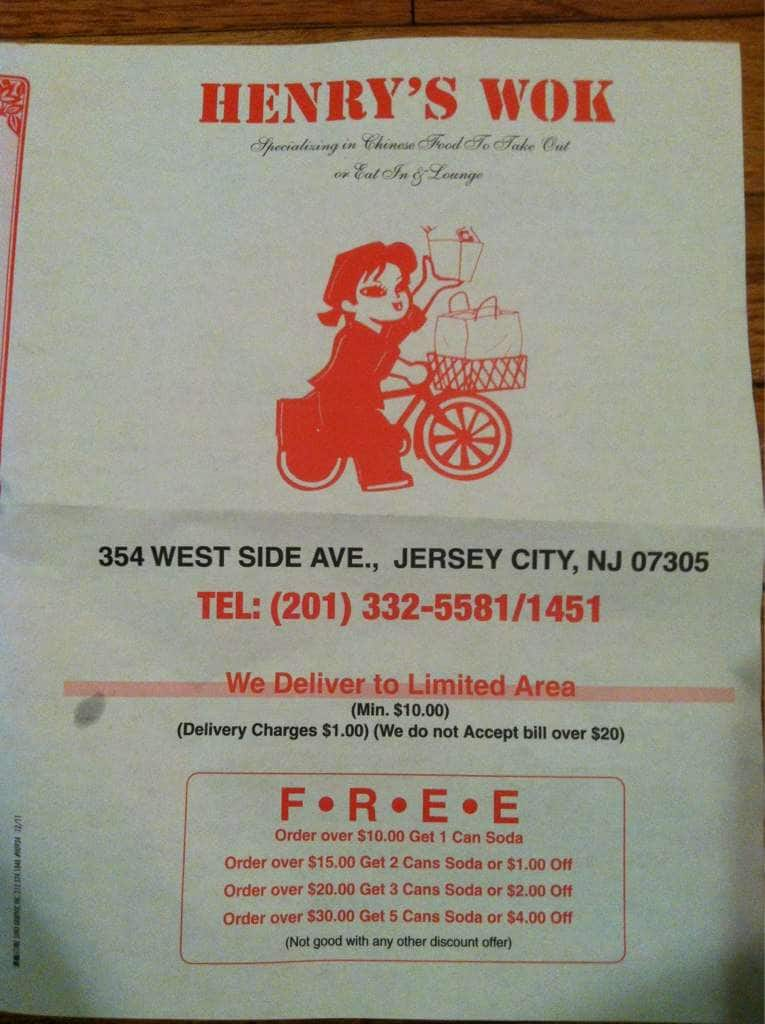 Side City Henry Jersey Wok Nj West Avenue