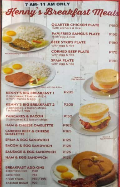 Party Kitchen Makati Menu