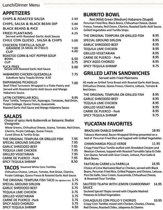 Yucatan taco stand tequila bar & grill dallas tx