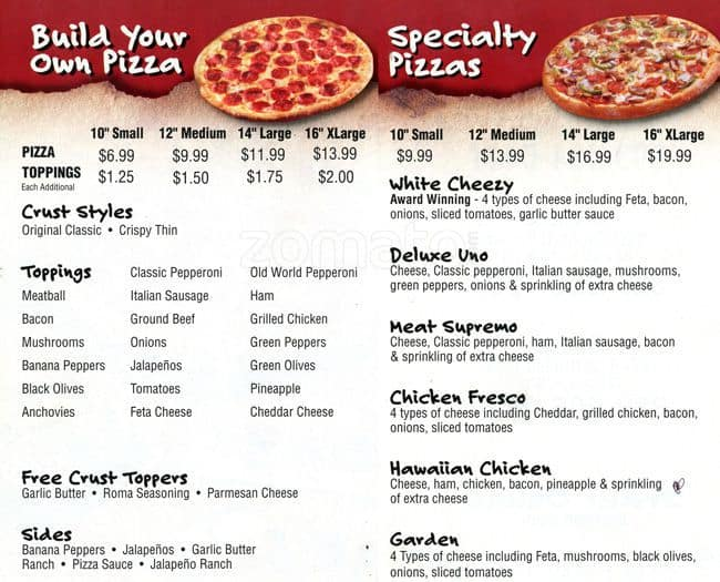 Anthony pizza coupon code denver